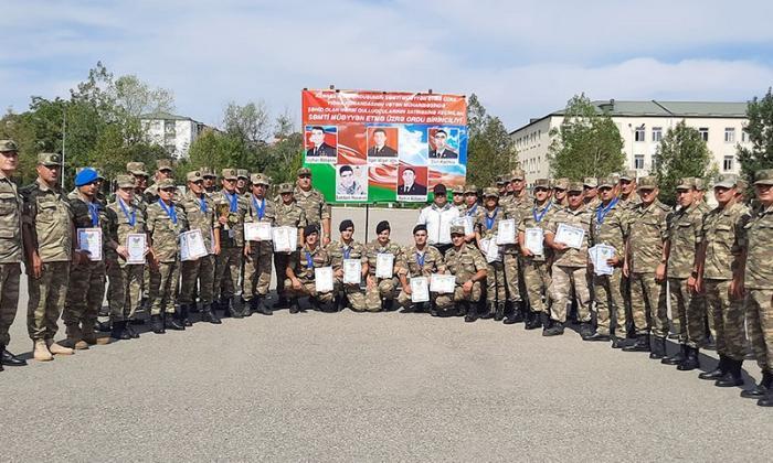 Azərbaycan Ordusunda keçirilən səmti müəyyənetmə yarışları yekunlaşıb - VİDEO