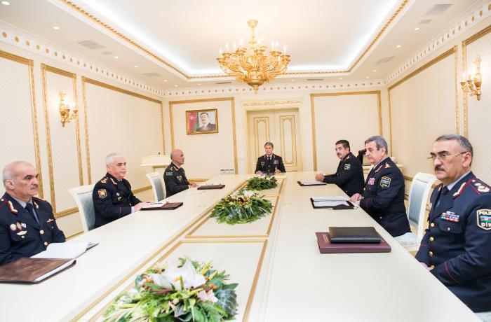 """Vilayət Eyvazov: """"8 ay ərzində cinayət hadisələrinin 85,3 faizinin üstü açılıb"""""""