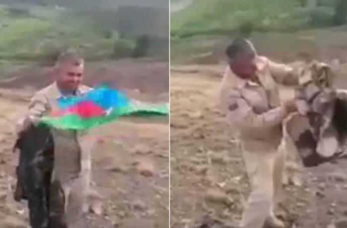 Qazi 10 ay sonra yaralandığı yerdə öz əşyalarını tapdı - VİDEO