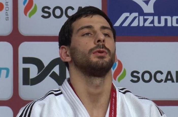 Azərbaycanın daha bir cüdoçusu Qran-pridə qızıl medal qazandı