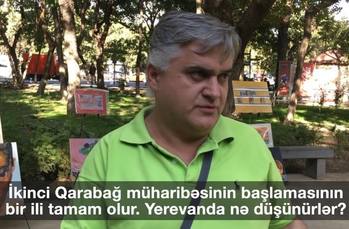 """""""Azərbaycan necə deyirdi elə də etdi"""" - Yerevanda VİDEO-SORĞU"""