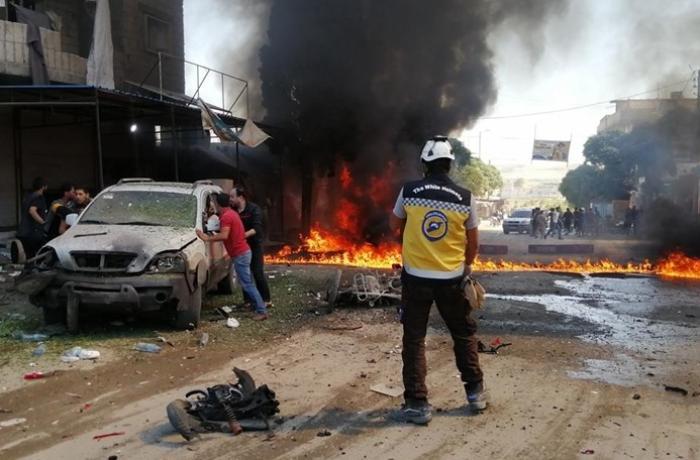 Suriyada terror aktı: 1 mülki şəxs öldü, 15 nəfər yaralandı
