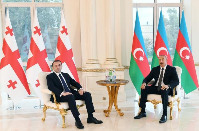 President Ilham Aliyev met with Georgian Prime Minister