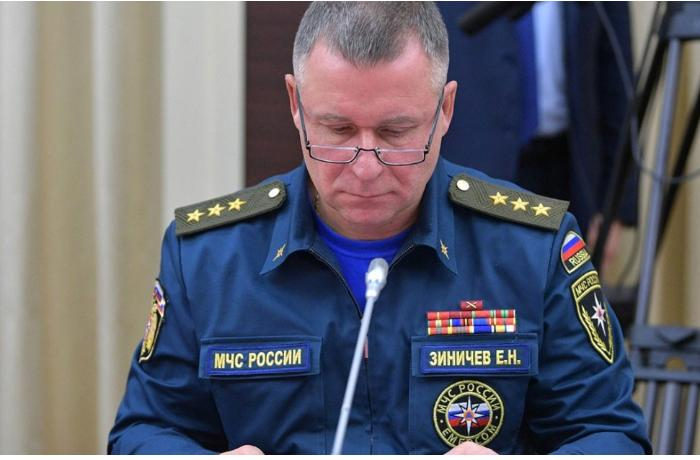 Russian emergencies minister dies at drills in the Arctic when saving life